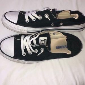 Converse slip ons (black)